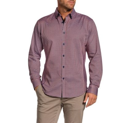 Fashion 4 Men - Tarocash Hitchcock Jubilee Shirt Brick S