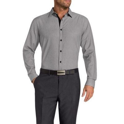 Fashion 4 Men - Tarocash Radford Textured Shirt Black Xxl