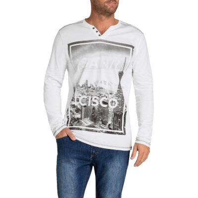 Fashion 4 Men - Tarocash San Fran Print Tee White Xl