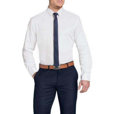 Fashion 4 Men - Tarocash Bahamas Slim Shirt White M