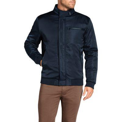 Fashion 4 Men - Tarocash Barron Zip Bomber Navy S
