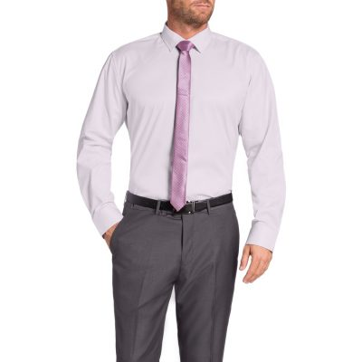 Fashion 4 Men - Tarocash Calvert Dress Shirt Pink M