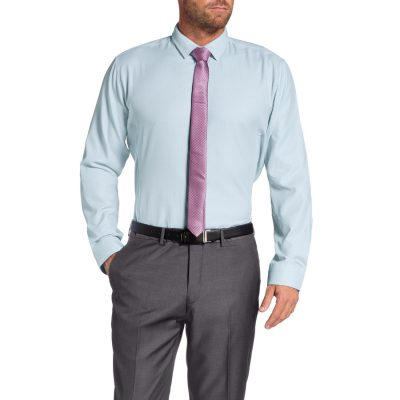 Fashion 4 Men - Tarocash Capstone Dress Shirt Sky L