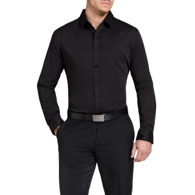 Fashion 4 Men - Tarocash Carribean Shirt Black 5 Xl