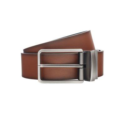 Fashion 4 Men - Tarocash Ceebee Reversible Prong Belt Tan/Black 42