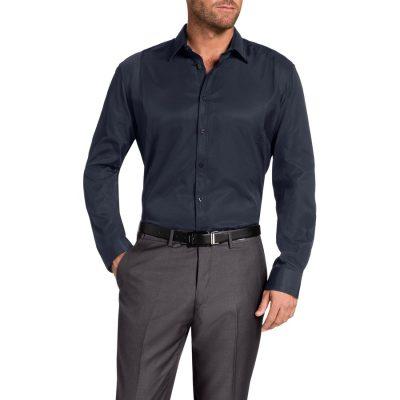 Fashion 4 Men - Tarocash Chambers Dress Shirt Navy S