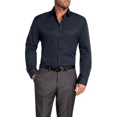 Fashion 4 Men - Tarocash Cleveland Dress Shirt Navy M