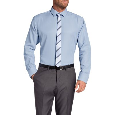 Fashion 4 Men - Tarocash Clifford Dress Shirt Blue S