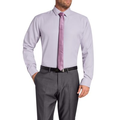 Fashion 4 Men - Tarocash Clifford Dress Shirt Lilac Xl