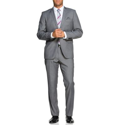 Fashion 4 Men - Tarocash Clive 1 Button Suit Pewter 36