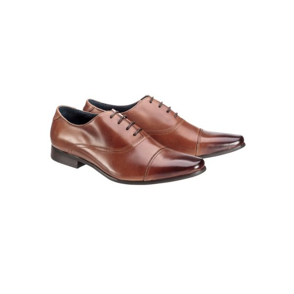 Fashion 4 Men - Tarocash Cosmo Lace Up Shoe Tan 7