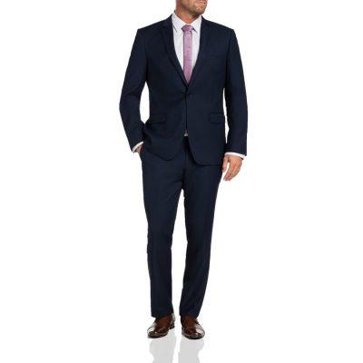 Fashion 4 Men - Tarocash Donovan 1 Button Suit Navy 48