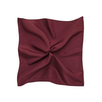 Fashion 4 Men - Tarocash Essential Pocket Square Burgundy 1