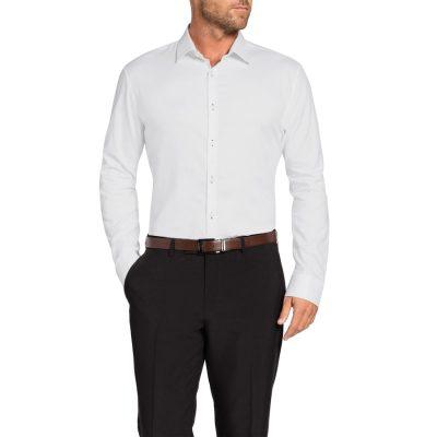 Fashion 4 Men - Tarocash Fleetwood Textured Dress Shirt White S