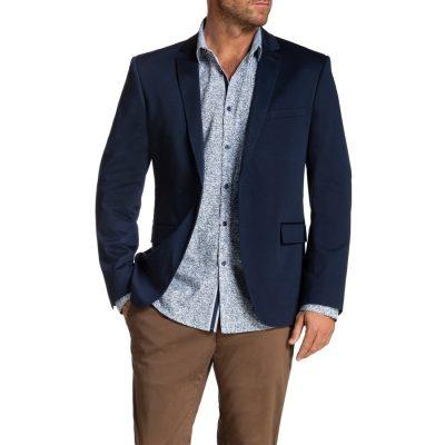 Fashion 4 Men - Tarocash Garrett Stretch Jacket Blue M