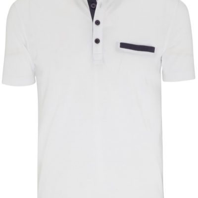 Fashion 4 Men - Tarocash Gordon Polo White S