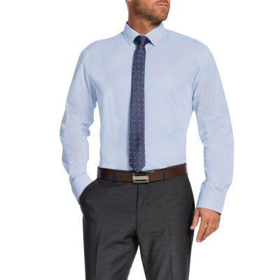 Fashion 4 Men - Tarocash Harper Slim Dress Shirt Sky M