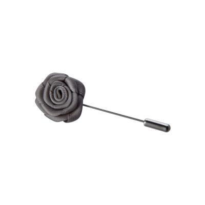 Fashion 4 Men - Tarocash Lapel Pin Charcoal 1