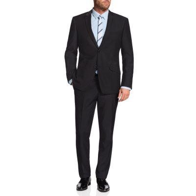 Fashion 4 Men - Tarocash Ledger 2 Button Suit Charcoal 34