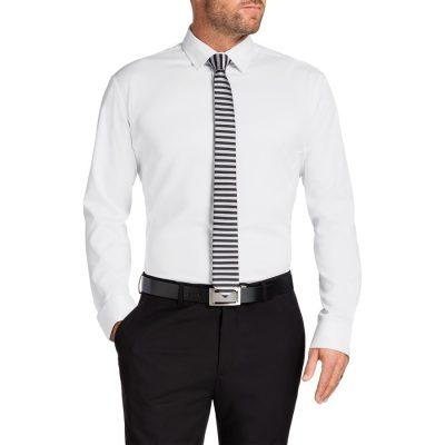 Fashion 4 Men - Tarocash Linton Stretch Dress Shirt White M