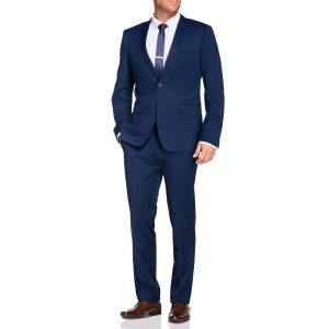 Fashion 4 Men - Tarocash Lucas 1 Button Suit Royal 38