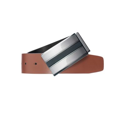 Fashion 4 Men - Tarocash Marcus Reversible Belt Black / Tan 46
