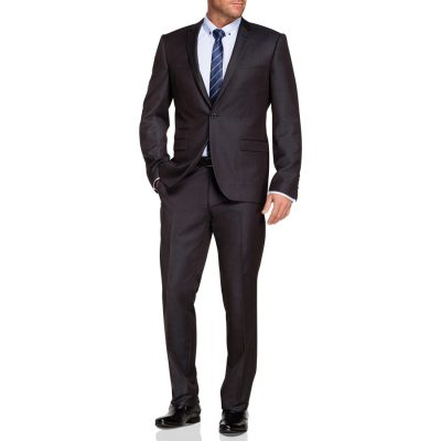 Fashion 4 Men - Tarocash Margate 1 Button Suit Charcoal 34