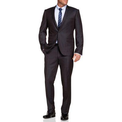 Fashion 4 Men - Tarocash Margate 1 Button Suit Charcoal 38