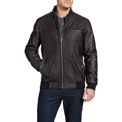Fashion 4 Men - Tarocash Marshall Pu Bomber Jacket Chocolate M