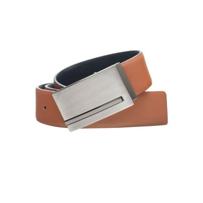 Fashion 4 Men - Tarocash Matthias Reversible Belt Tan/Black 32