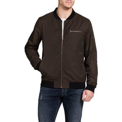 Fashion 4 Men - Tarocash Maverick Bomber Jacket Khaki L