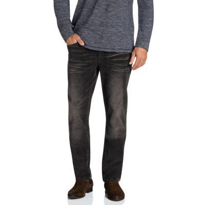 Fashion 4 Men - Tarocash Newport Stretch Cord Charcoal 33