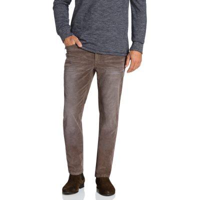 Fashion 4 Men - Tarocash Newport Stretch Cord Taupe 40