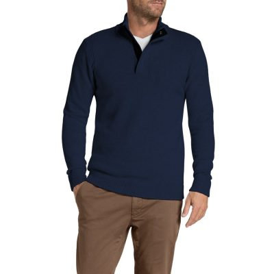 Fashion 4 Men - Tarocash Nielson Knit Navy S
