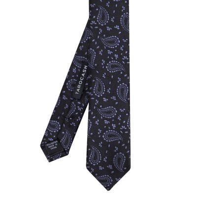Fashion 4 Men - Tarocash Paisley Tie Black 1