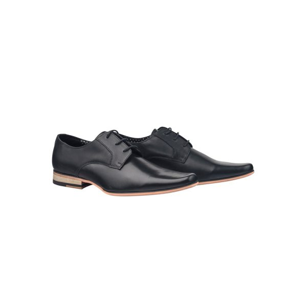 Fashion 4 Men - Tarocash Patrick Lace Up Shoe Black 9