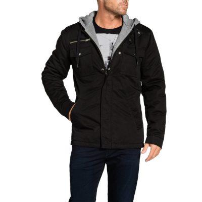 Fashion 4 Men - Tarocash Reserve Hooded Jacket Black L