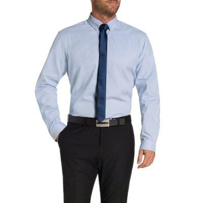 Fashion 4 Men - Tarocash Riccarton Dress Shirt Sky Xxl