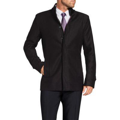 Fashion 4 Men - Tarocash Roland Dress Coat Black Xxxl