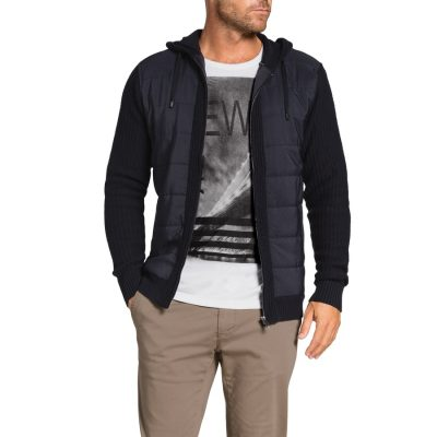 Fashion 4 Men - Tarocash Salem Knit Jacket Navy Xl