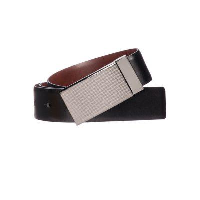 Fashion 4 Men - Tarocash Sandown Reversible Belt Black / Tan 44