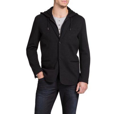 Fashion 4 Men - Tarocash Saratoga Hooded Jacket Black Xxl