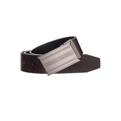 Fashion 4 Men - Tarocash Scotch Reversible Belt Choc/Black 46