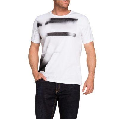 Fashion 4 Men - Tarocash Shadow Tee White Xxl