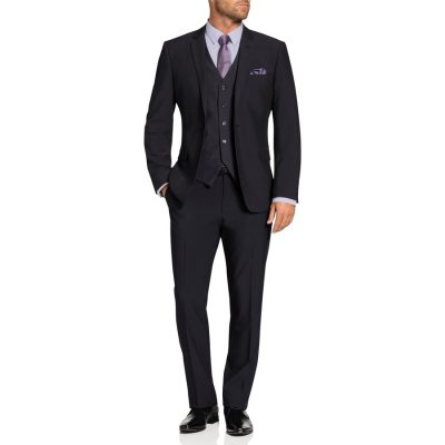 Fashion 4 Men - Tarocash Shelby Stretch Suit Charcoal 48
