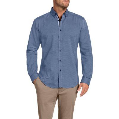 Fashion 4 Men - Tarocash Silver Jubilee Shirt Blue L