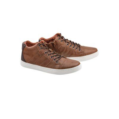 Fashion 4 Men - Tarocash Vincent High Top Shoe Tan 11