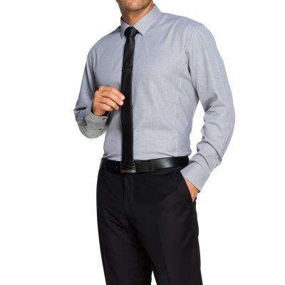 Fashion 4 Men - Tarocash Ward Dress Shirt Black M