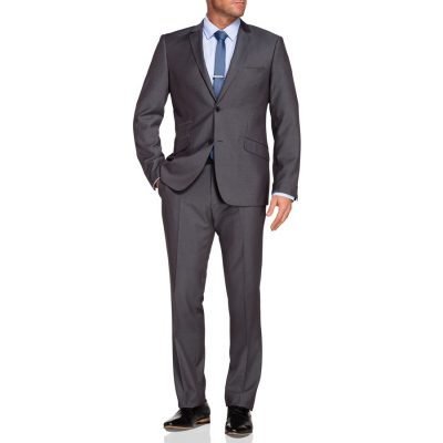 Fashion 4 Men - Tarocash York 2 Button Suit Pewter 44
