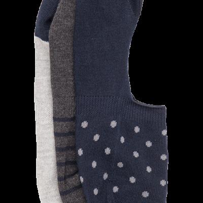 Fashion 4 Men - Karl Invisible 3 Pack Sock